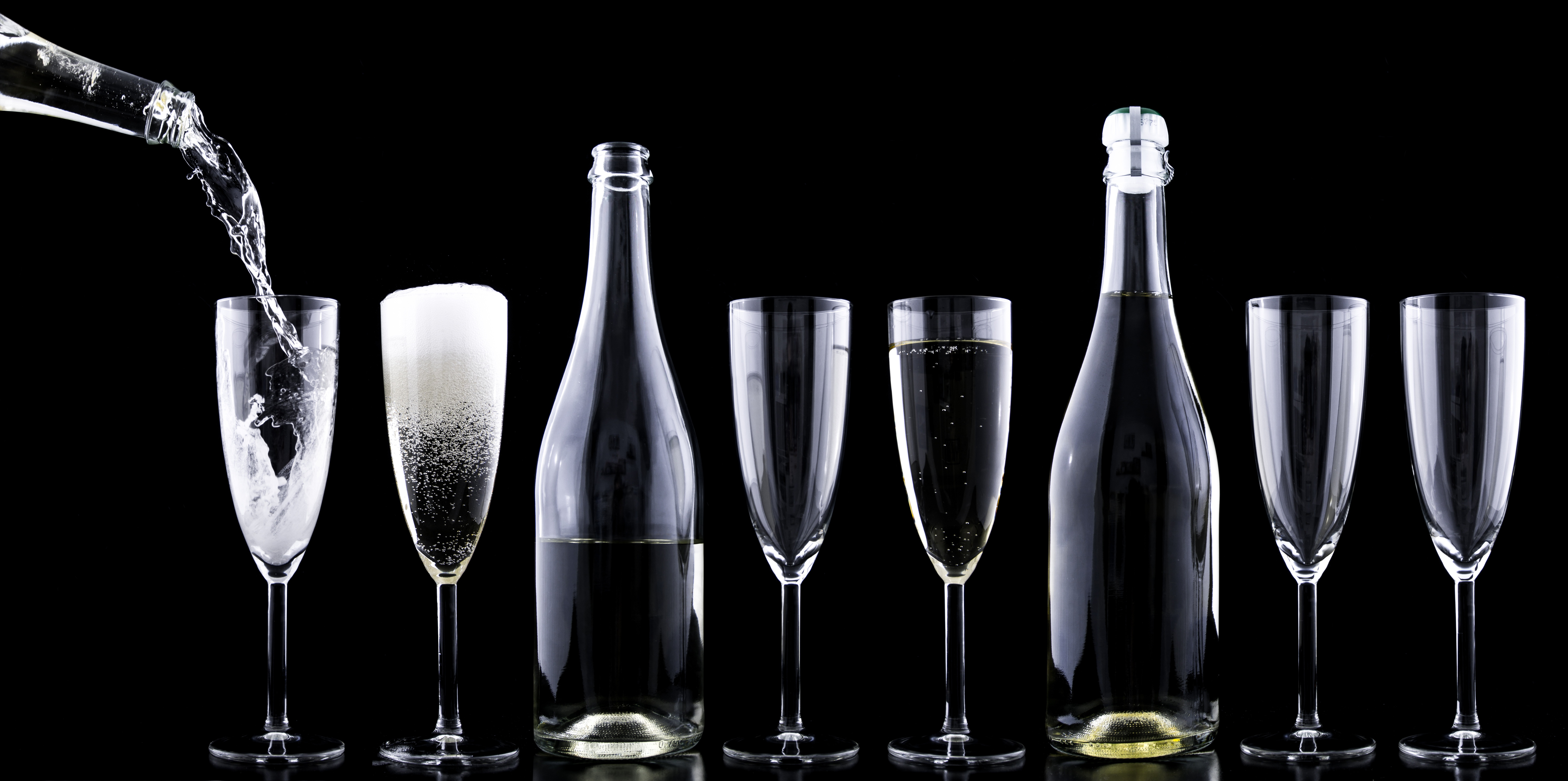 wine and champagne glass which is best maximum marketer